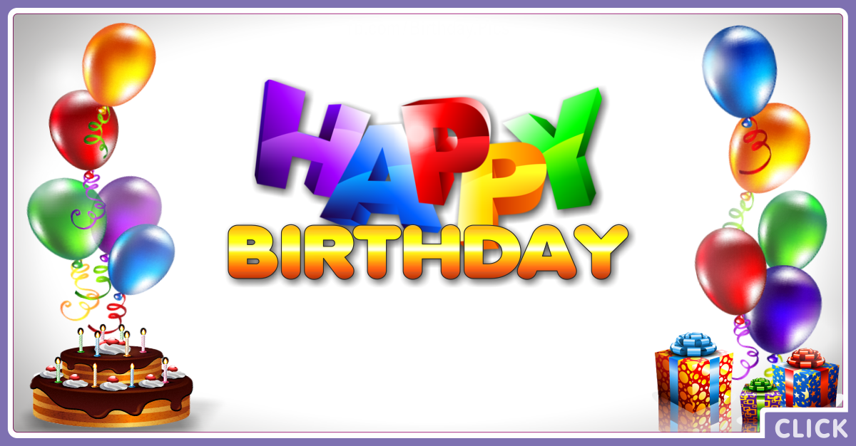Happy Birthday Capricia Card for celebrating