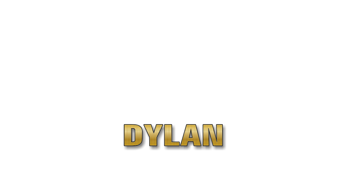 Happy Birthday Dylan Personalized Card for celebrating