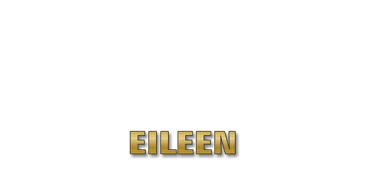 Happy Birthday Eileen Personalized Card for celebrating