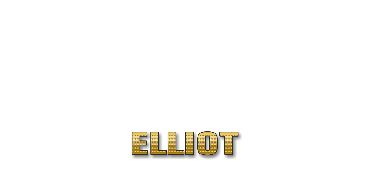 Happy Birthday Elliot Personalized Card for celebrating
