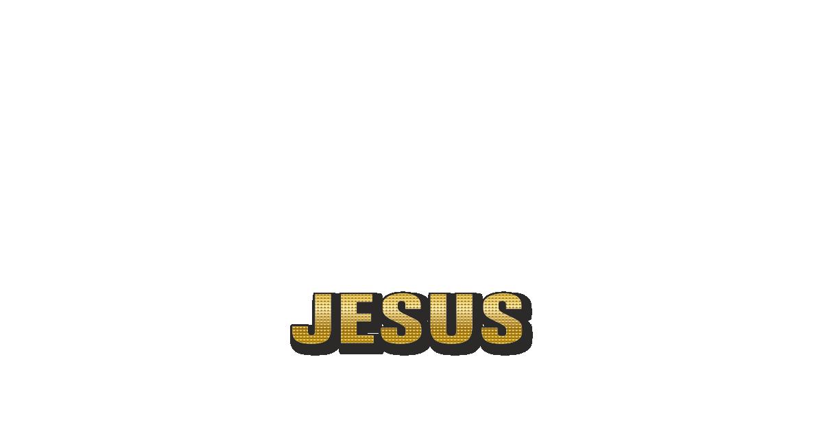 Happy Birthday Jesus Personalized Card for celebrating
