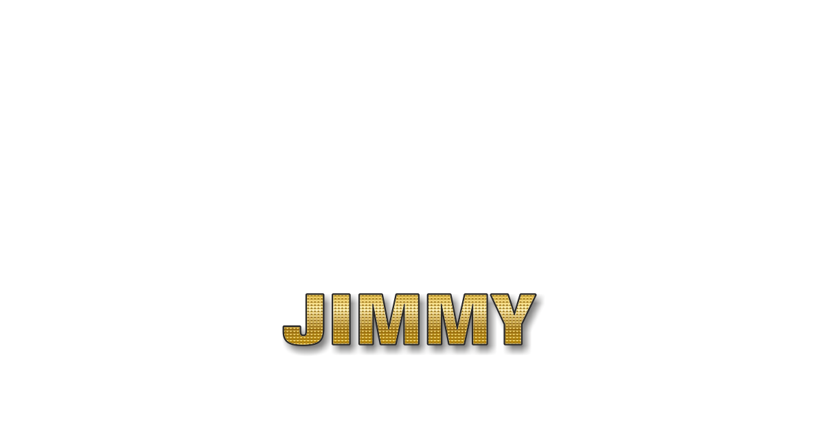 Happy Birthday Jimmy Personalized Card for celebrating