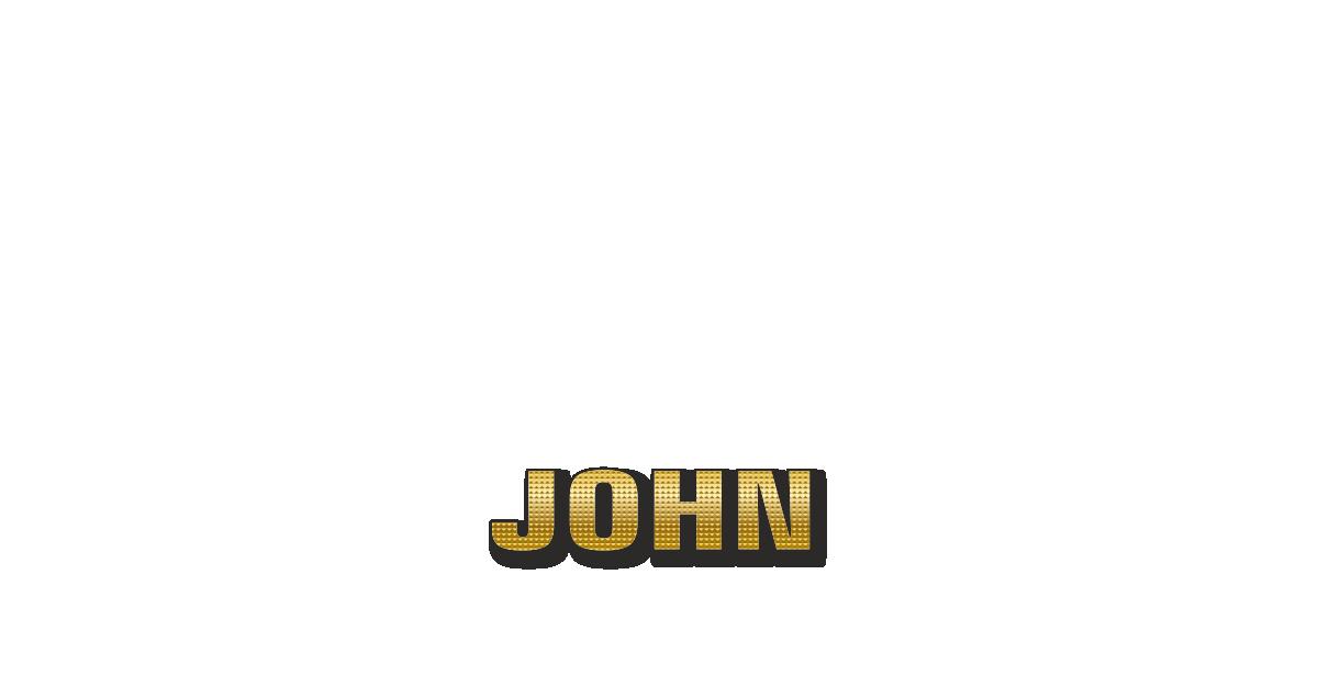 Happy Birthday John Personalized Card for celebrating