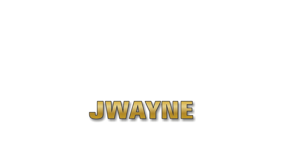 Happy Birthday JWayne Personalized Card for celebrating