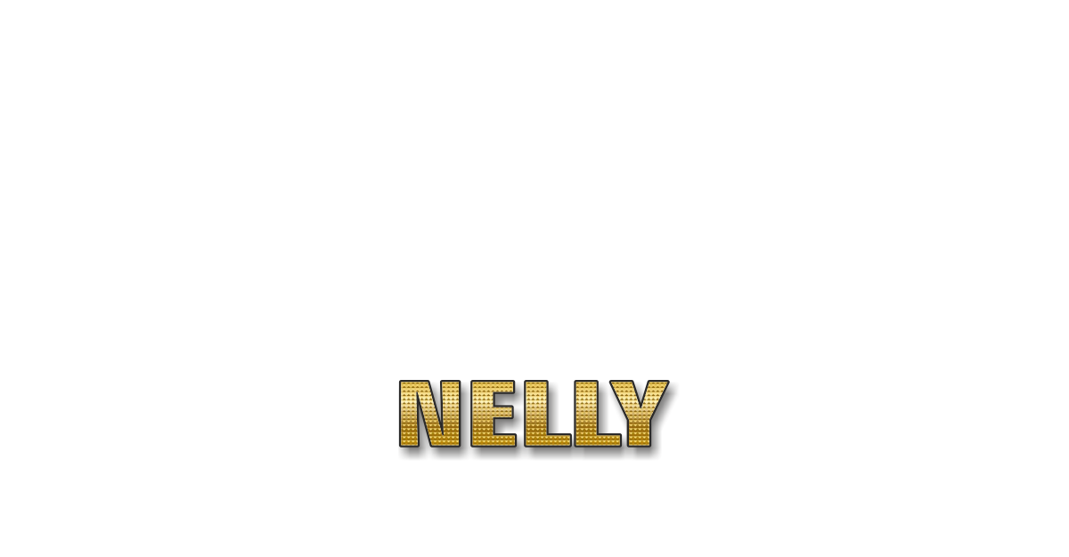 Happy Birthday Nelly Personalized Card for celebrating