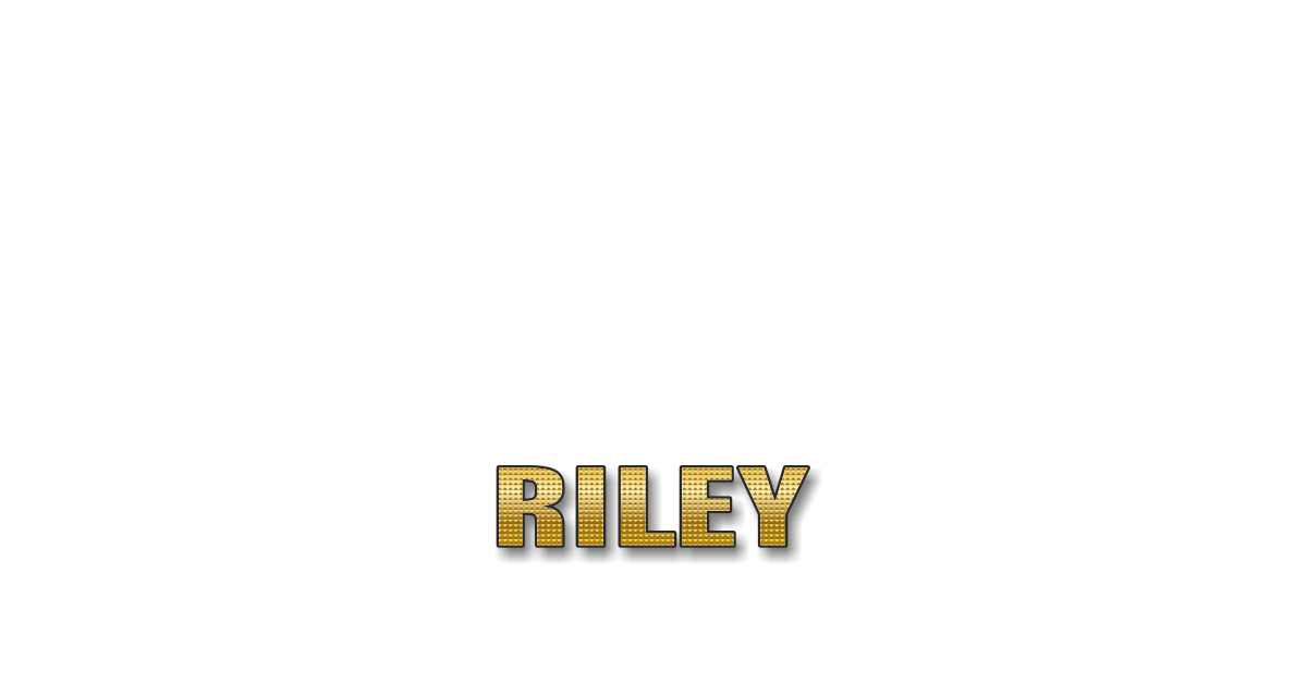 Happy Birthday Riley Personalized Card for celebrating