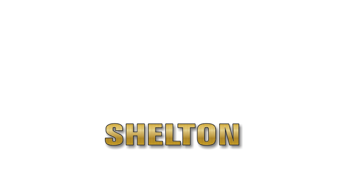 Happy Birthday Shelton Personalized Card for celebrating