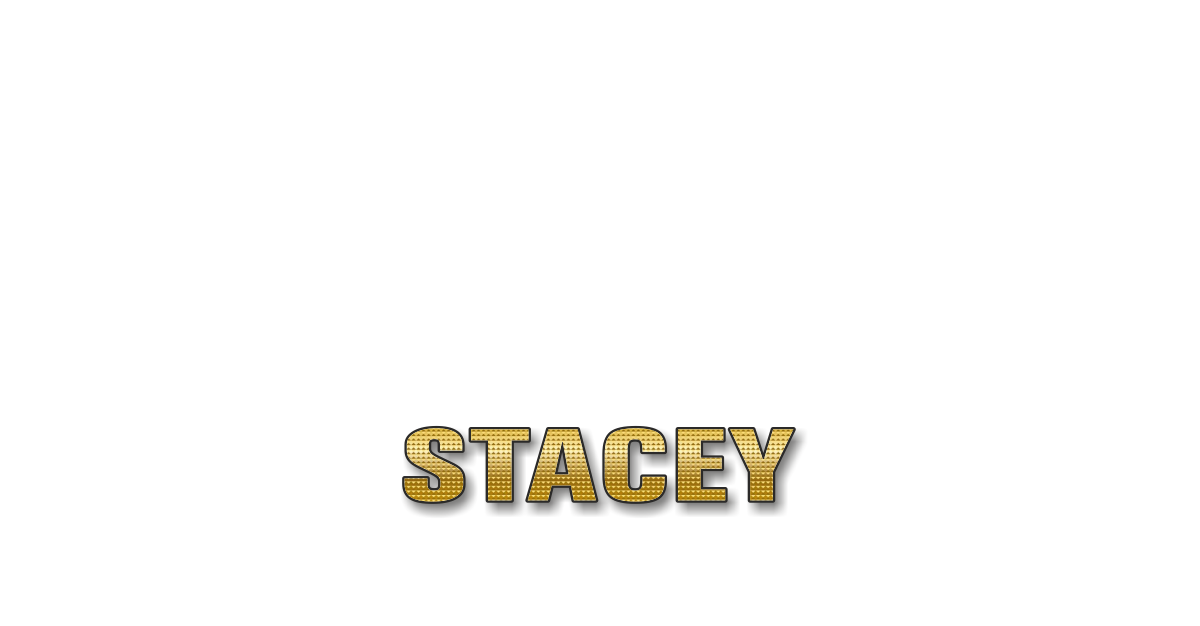 Happy Birthday Stacey Personalized Card for celebrating