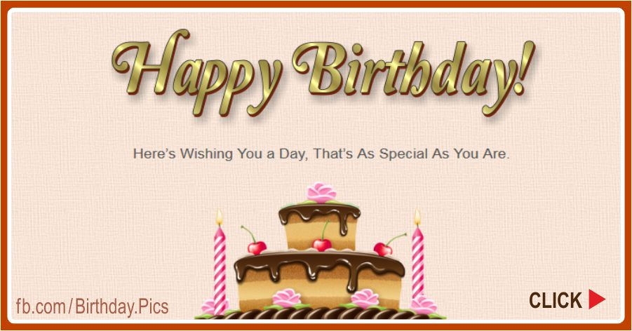 Happy Birthday page card - 0001c