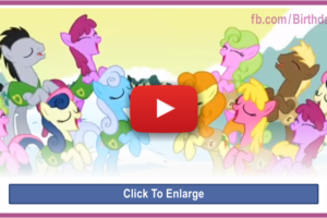 Happy Birthday Video – Pony Style