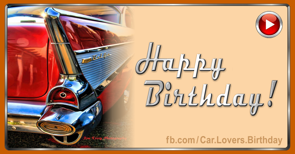 Happy Birthday Dear Car Lover