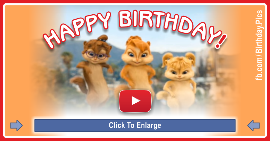 Chipmunks Happy Birthday Video 1