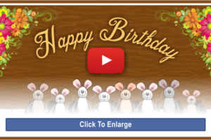 Happy Birthday Musical Mice Video