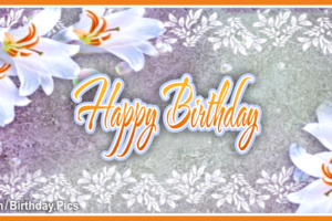 I Wish You A Special Day – Happy Birthday to You