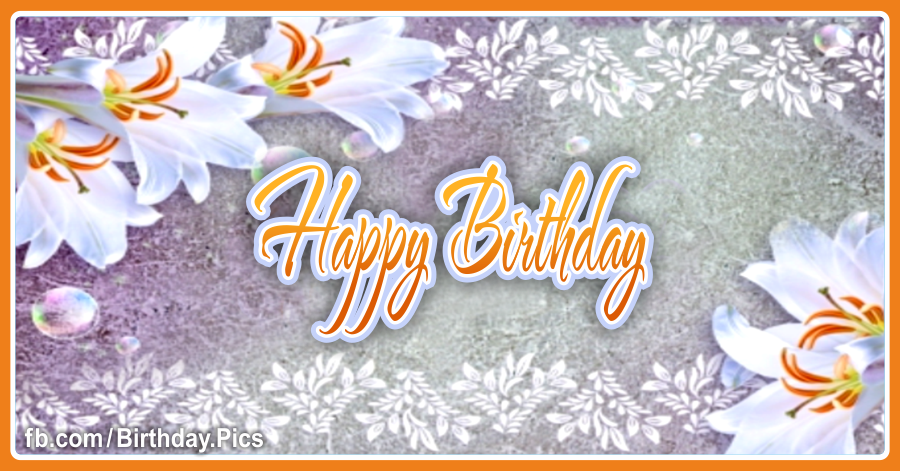 I wish you a special day birthday card - 007