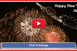 Fireworks Show (7 Min.) With Happy New Year Song From ABBA