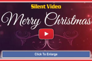 Merry Christmas Silent Video Card For You