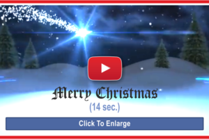 Merry Christmas Greeting Video Card With Tree Decorating Links