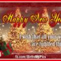 Happy new year santa girl 0023a