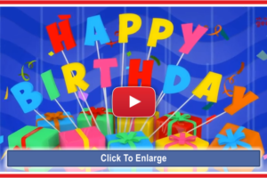 Happy Birthday Gifts Video