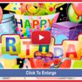 Happy birthday video jazz version - 0063a