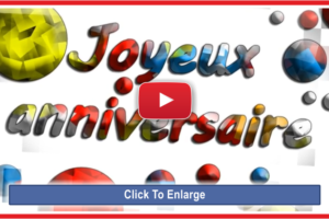 Happy Birthday French Version Song – Joyeux Anniversaire