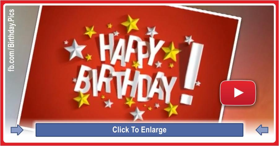Happy birthday video waltz version - 0067a