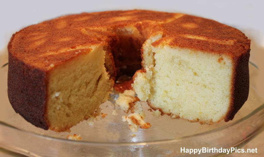 Classic buttermilk cake recipe, for birthday