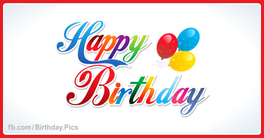 Happy Birthday Greeting Card 006