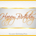 Happy Birthday Greeting Card 012