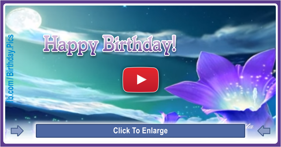 Happy birthday to you video card -2-4a