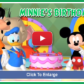 Minnie's birthday video - 1a