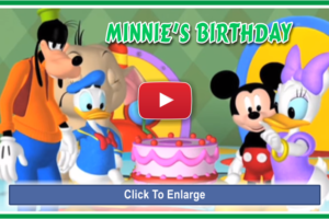 Minnie's Birthday for Little Girls (3 Min.)