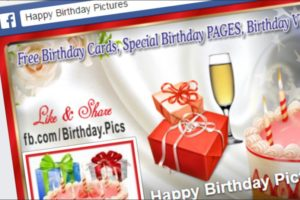 Importance of Sending Birthday eCards to Friends and Relatives on Facebook