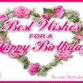 Best wishes happy birthday - 044