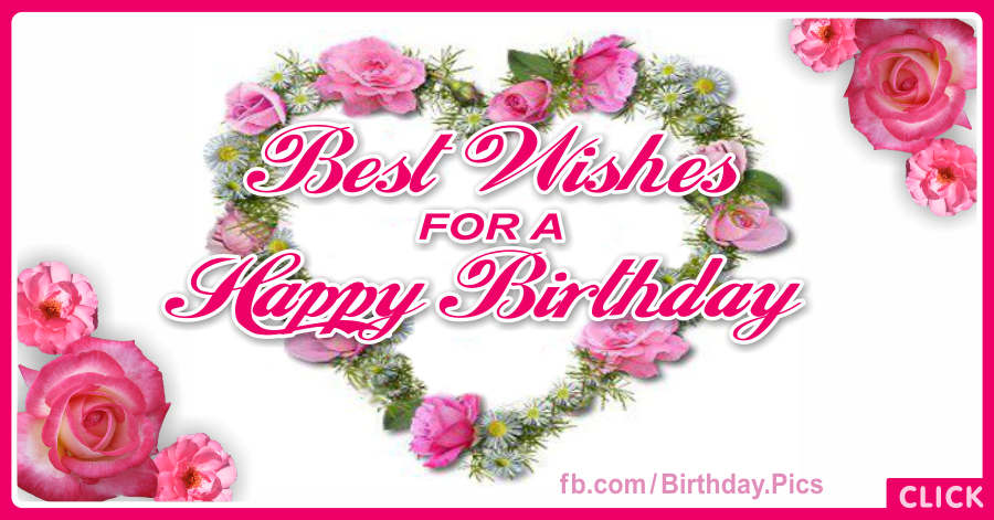 Best wishes happy birthday - 044