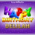 Happy Birthday Delilah