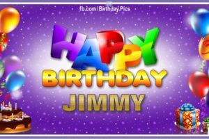 Happy Birthday Jimmy
