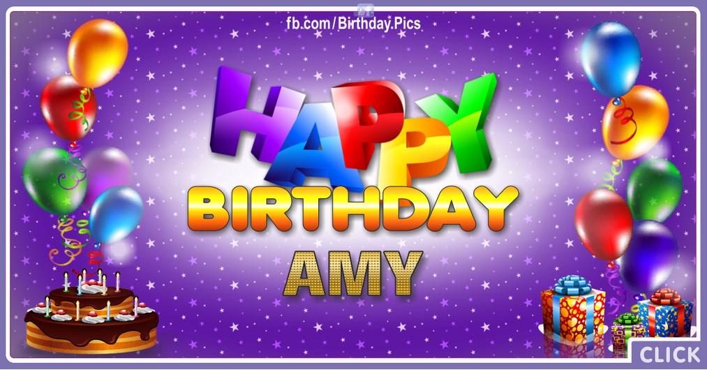 Happy Birthday Amy - 2