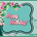 Elsanna green card happy birthday - FZN011