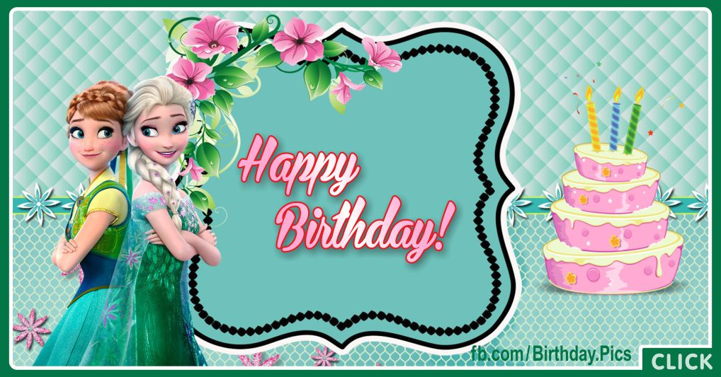 Elsanna Green Birthday Card