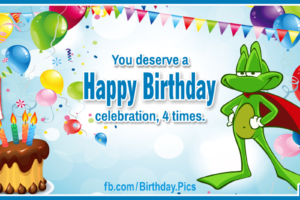 Happy Leap Year Birthday Card 1