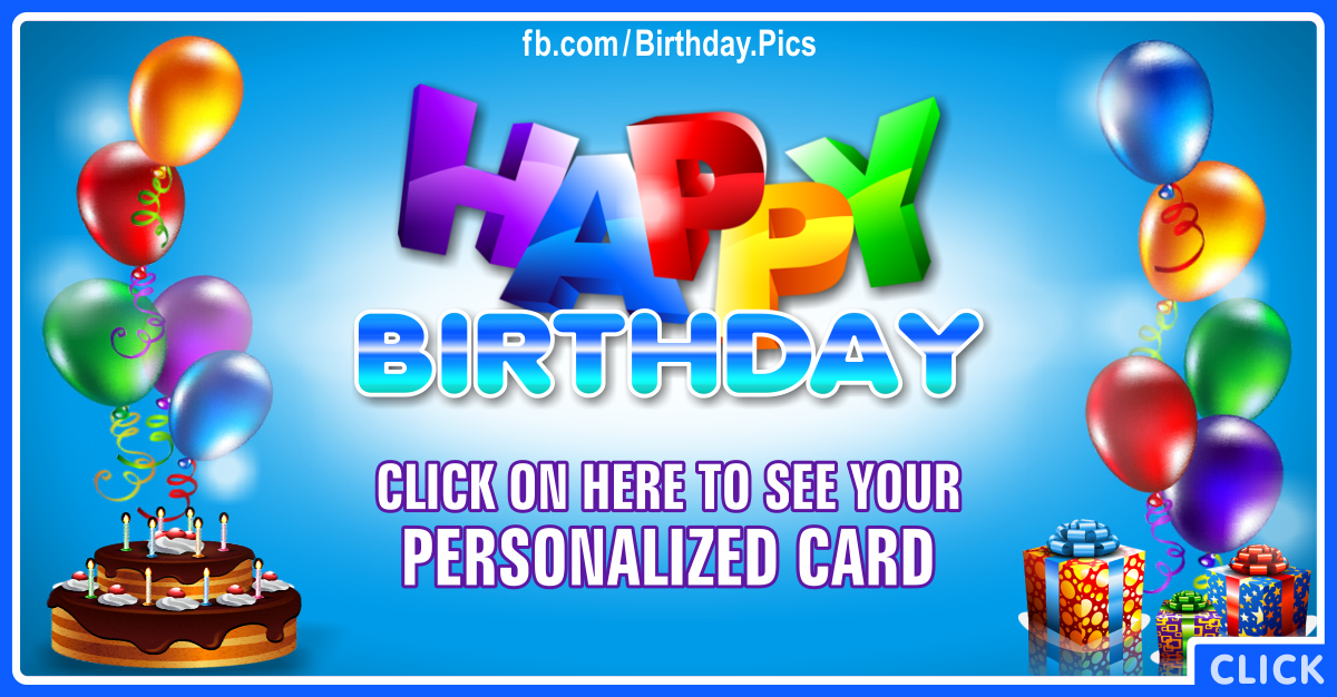 Happy Belated Birthday Card for you