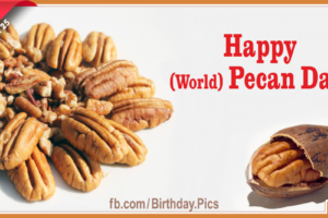 Happy World Pecan Day to You – 25th March