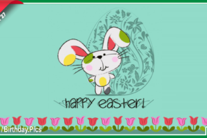 Happy Easter Day – March 27