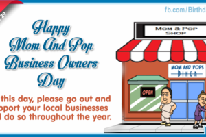 Happy National Mom And Pop Business Owners Day – March 29