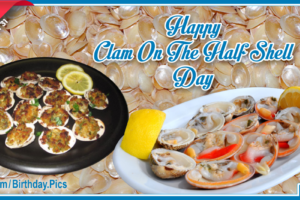 National Clam On The Half Shell Day
