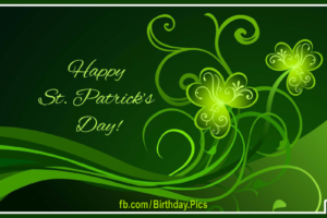 Happy St. Patrick's Day — Saint Patty Day Card 1