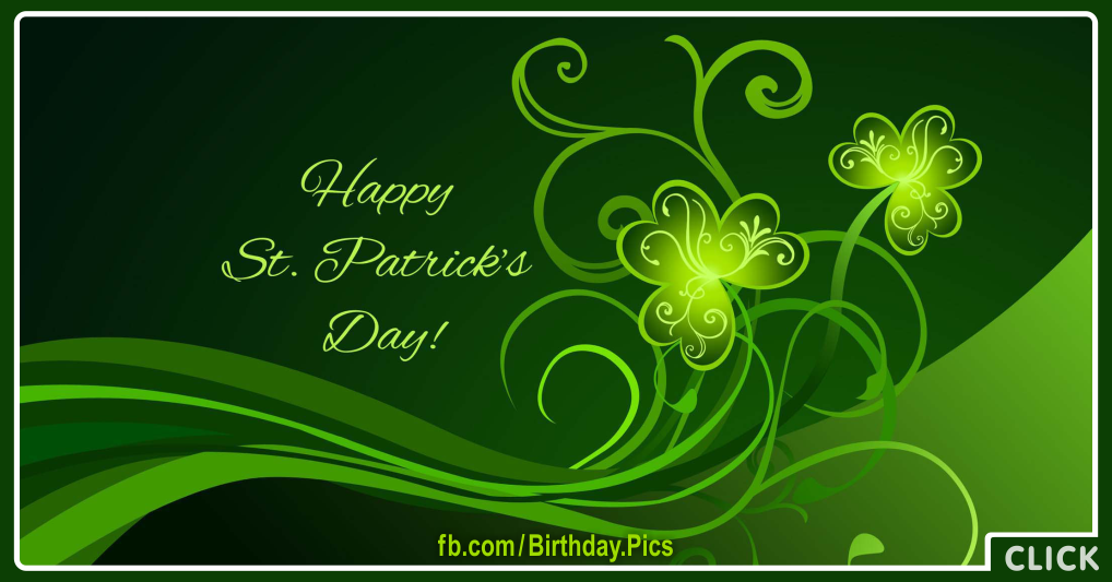 Saint Patricks Day Card - 001