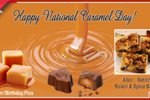 Happy National Caramel Day – 5th April